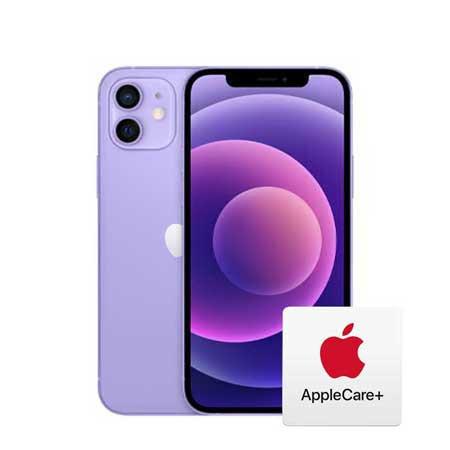 [자급제, AppleCare+ 포함] 아이폰 12 미니, 128GB, 퍼플