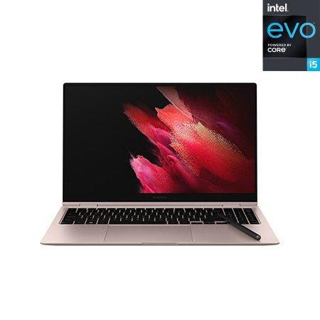 삼성 뉴갤럭시북 Pro 360 NT950QDB-KC58G 노트북 인텔11세대i5 8GB 256GB Win10H 15.6inch (미스틱브론즈)