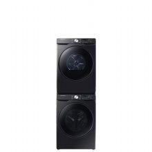 *LED 블랙* WF24T8000KV [드럼세탁기24KG/블랙캐비어] + DV17T8520BV [건조기17KG/스태킹키트포함/블랙캐비어]