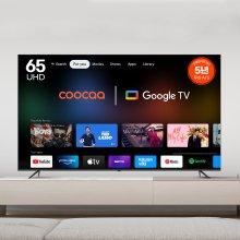이스트라 쿠카 UC651UHD 65인치TV 스마트TV - 스탠드/자가설치/직배송