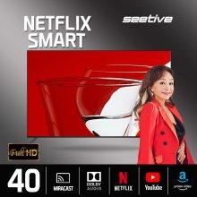 101.6cm FHD 스마트 TV PA400FHD-N (스탠드형 기사설치, 수도권)