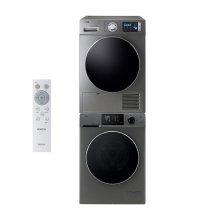 드럼 세탁기(12kg)+의류건조기(10kg) 세트 WMF12BS5T + EWR10JDDI