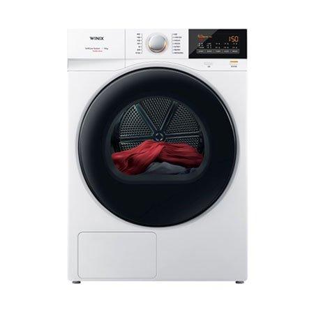 건조기 HGXM160-KVK [키트선택가능][16KG/히트펌프/바른건조/옷감별 맞춤건조/새틴 화이트]