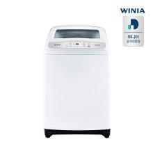 공기방울 일반 세탁기 EWF14GEW (14kg, 4D 강력 물살, 투명도어, 화이트)