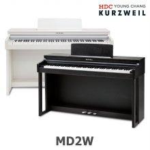 영창 커즈와일 디지털피아노 MD2W 천연목재건반 (화이트)