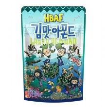 [길림] 김맛 아몬드 120g