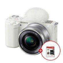 [32G메모리 증정]소니 브이로그 카메라 ZV-E10 렌즈KIT[화이트][본체+16~50mm 파워 줌렌즈]